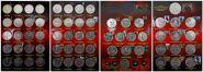 Набор юбилейных монет СССР, 64шт в блеске