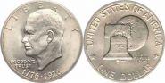 США. 1 доллар. Дуайт Эйзенхауэр