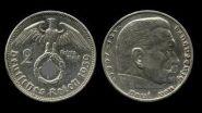 Германия 3 Рейх 2 марки 1939г. Оригинал . Серебро