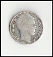 Франция 10 франков 1933. Серебро