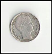 Франция 10 франков 1929. Серебро