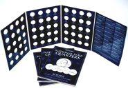 Альбом для юбилейных монет США НАЦИОНАЛЬНЫЕ ПАРКИ.  Картонный. США (оригинальный)
