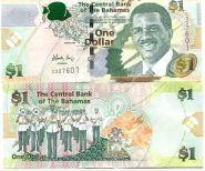 Багамы (Багамские острова) 1 доллар 2008 г. ПРЕСС